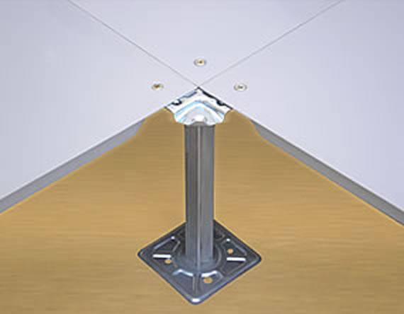 Corner Lock System by Tankaria Access Floors