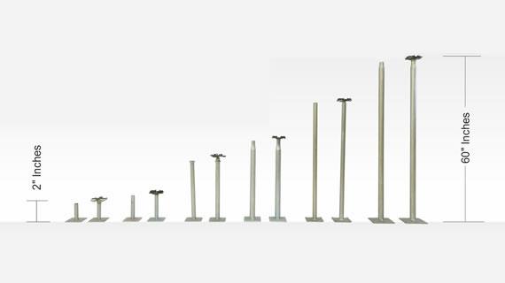 Pedestal Bases for Better Flooring Foundation