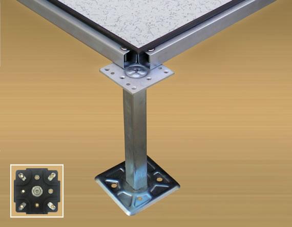 Flat Pedestal Screw Down System