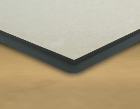Steel Panel with Ceramic/Vitrified Tile Top