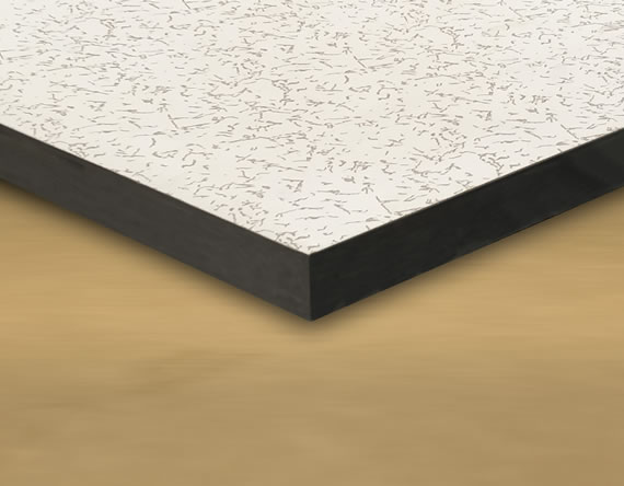 Wood core Tile with Anti Static Laminate Top